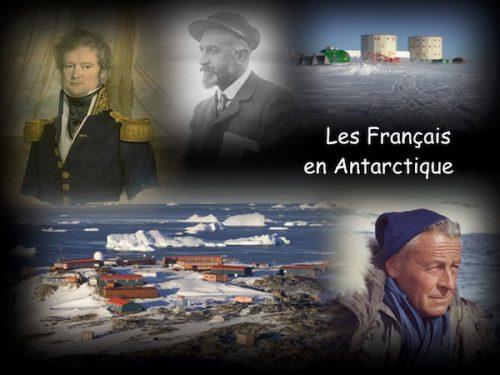 Conférence Les français en Antarctique
