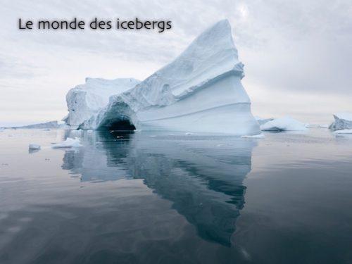 Conférence Le mondes des icebergs