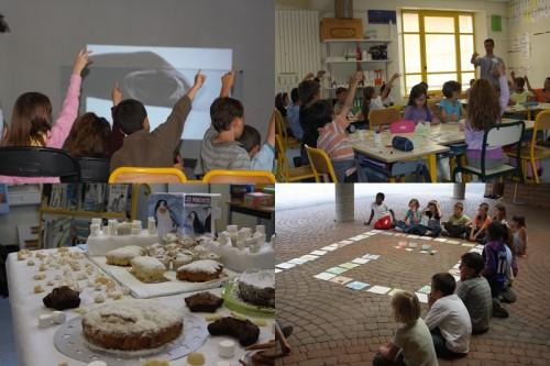 A l'école du Cheylas le 18 mai 2009