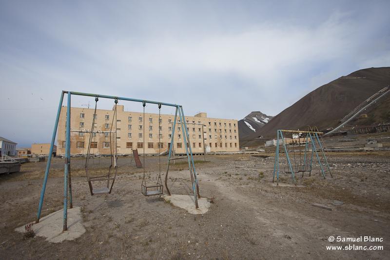 Pyramiden au Spitzberg, Svalbard