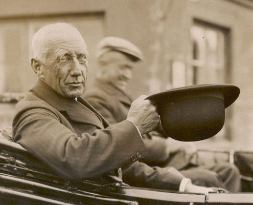 Roald Amundsen à Paris le 2 juin 1928
