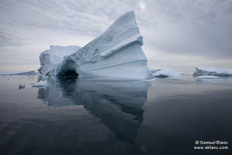 Iceberg au Groenland