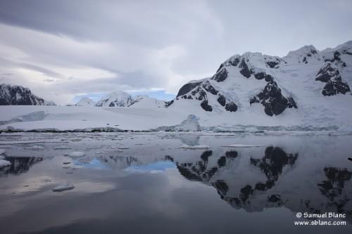 Paysage de la péninsule antarctique