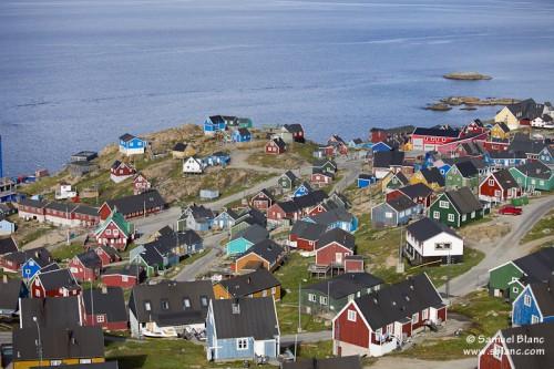 Village d'Upernavik au Groenland