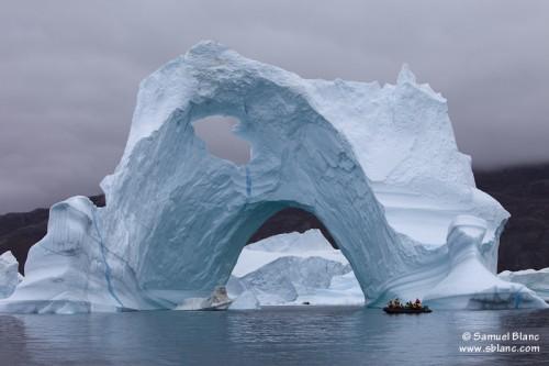 Balade autour d'un iceberg