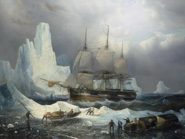 L'Erebus en Antarctique
