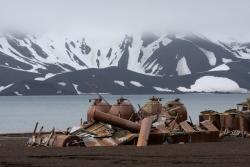 Station baleinière de l'Ile Déception / Whaling station at Deception Island