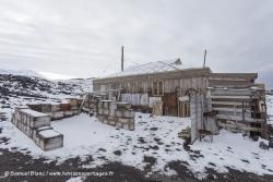 Cabane de l'expédition Nimrod au Cap Royds / Nimrod expedition hut at Cape Royds