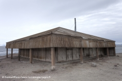 Cabane de l'expédition Discovery à Hut Point / Discovery expedition hut at Hut Point