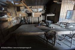 Cabane de Scott au cap Evans / Scott's hut at Cape Evans
