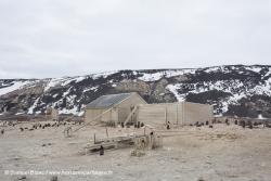 Cabane de Carsten Borchgrevink au cap Adare / Borchgrevink's hut at Cape Adare