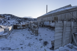 Cabane de l'expédition Nimrod au cap Royds
