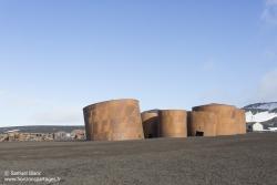 Ancienne station baleinière de l'île Deception