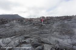 Champ de lave du volcan Tolbachik / Lava field of Tolbachik volcano