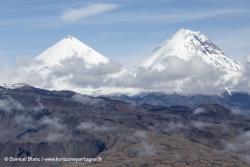 Volvans Klyuchevskoy et Kamen / Klyuchevskoy and Kamen volcanoes
