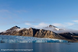 Paysage et glacier / Landscape and glacier