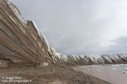 Falaise de glace / Ice cliff