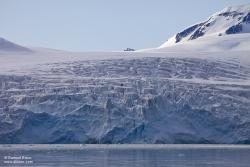 Glacier dans le Fuglefjord / Glacier in Fluglefjord