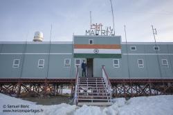 Base indienne Maitri / Indian station Maitri