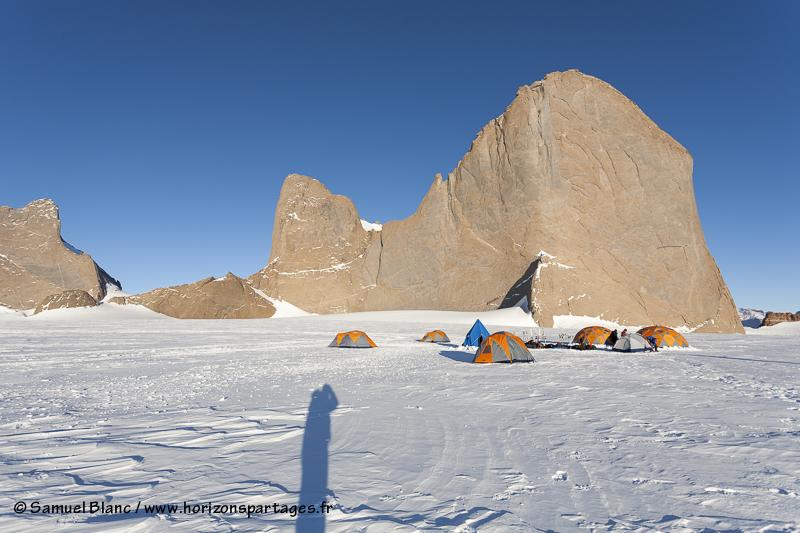 Mont Holtanna en Terre de la Reine Maud