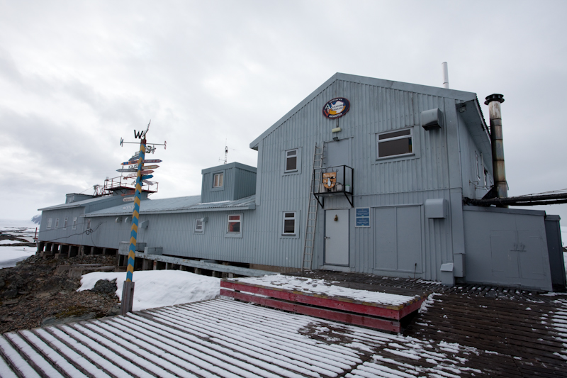 Base antarctique ukrénienne Vernadsky