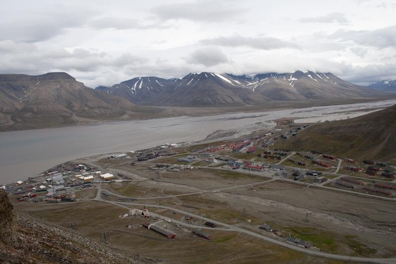 Longyearbyen au Svalbard