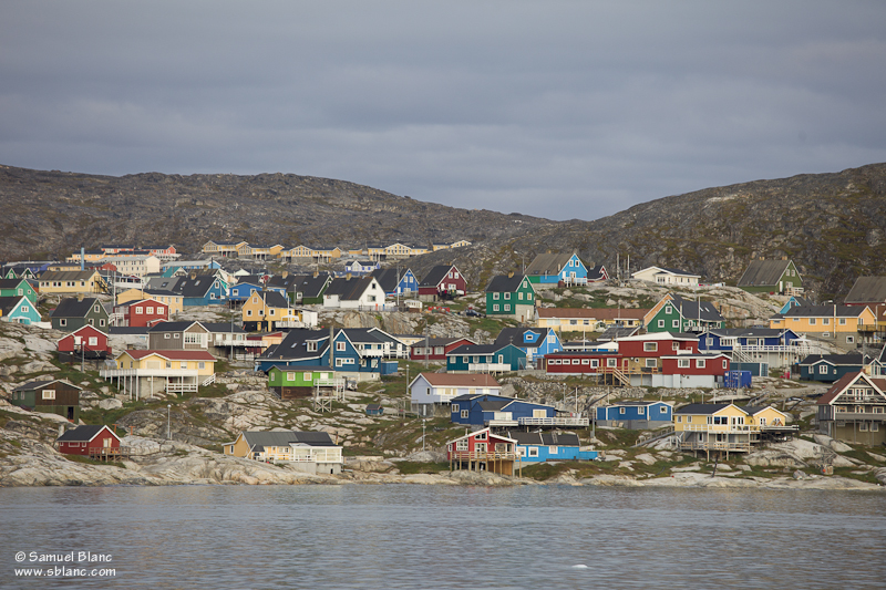 Ilulissat au Groenland