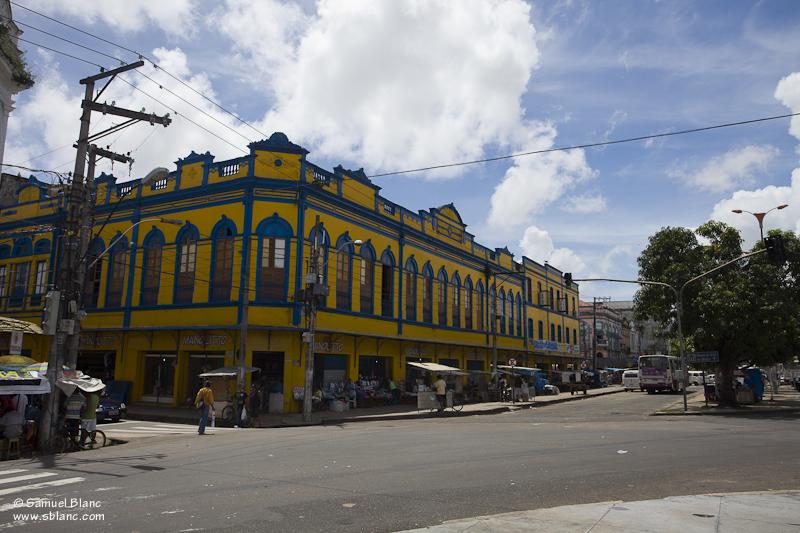 Belém au Brésil