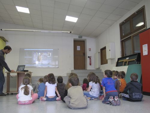 Intervention pédagogique en classe