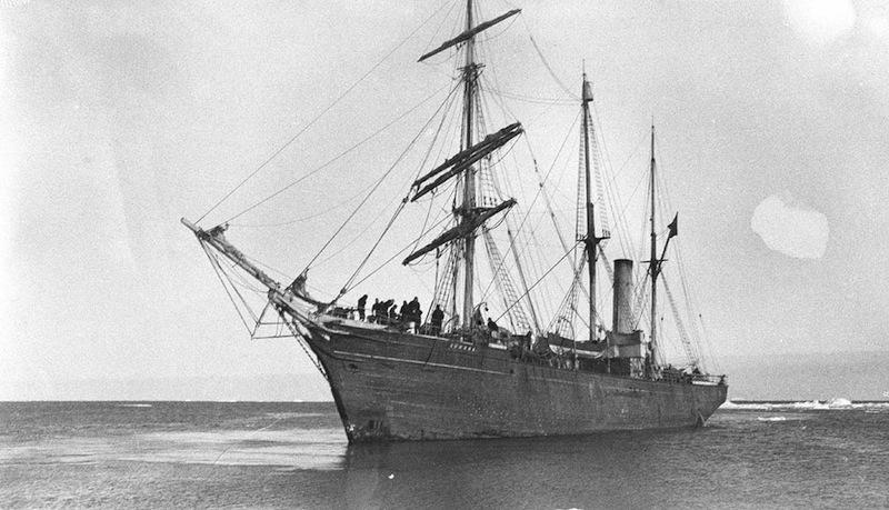 Le navire Aurora