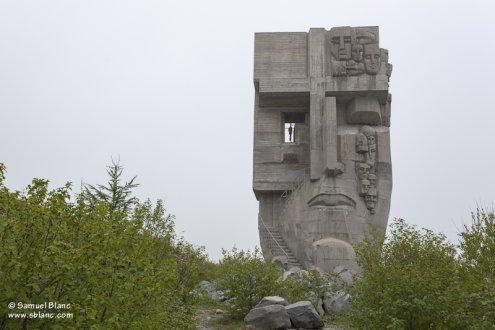 """Le """"masque de la tristesse"""" à Magadan"""
