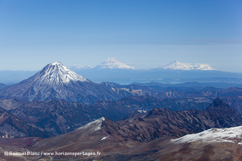 Volcans au Kamtchatka