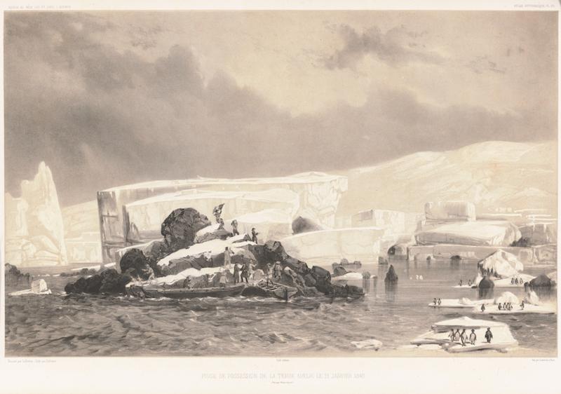 Rocher du Débarquement en Terre Adélie