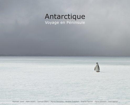 """Livre """"Antarctique, voyage en péninsule"""""""