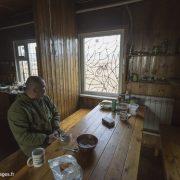 Dans la cabane des rangers de l'île Wrangel en Tchoukotka