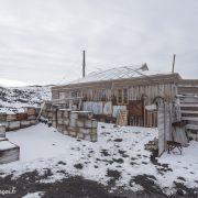 Cabane de l'expédition Nimrod au cap Royds sur l'île Ross