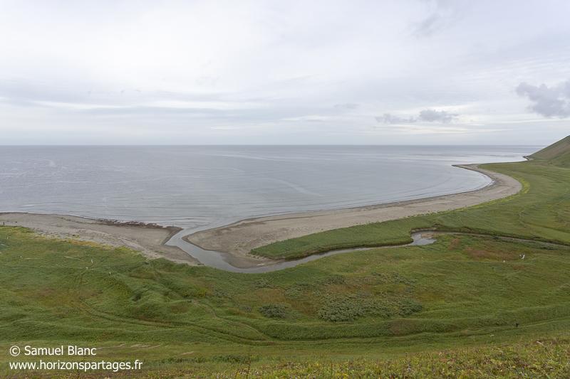 Baie du Commandeur sur l'île Béring