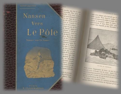 Livre Nansen vers le Pôle