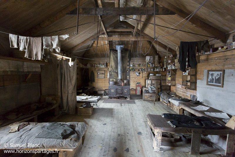 Cabane de l'expédition Nimrod (1907-1909)