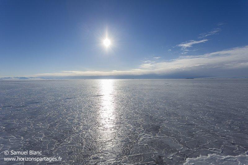 Embâcle dans le détroit de McMurdo