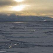 Débâcle dans le détroit de McMurdo